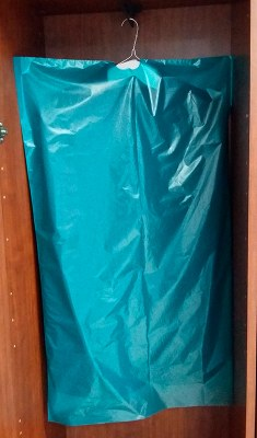 Чехлы для одежды с запахом ванили «Антимоль»  600 х 1450 мм.