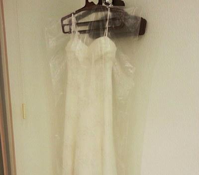 Пакет-чехол для переноски свадебного платья фирменный
