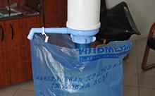 Пакеты для бутылей 19 литров «фасовочного типа» с фирменной печатью