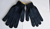 Перчатки ПВХ 5 нит.